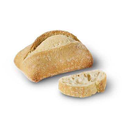Petit pain carré nature 40g