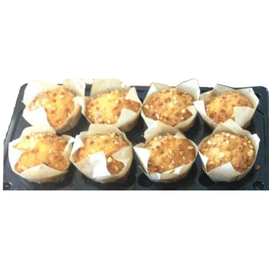 Muffin nature fourré caramel 120g