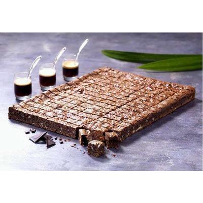 Plaque brownies prédécoupée 15g