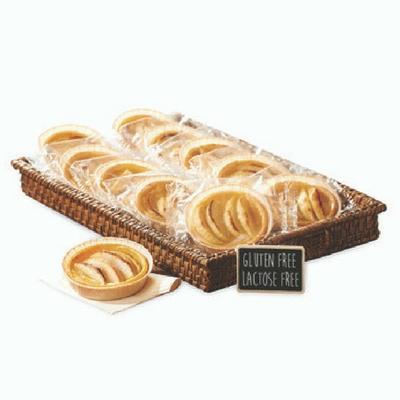 Tartelette aux pommes sans gluten et sans lactose 75g