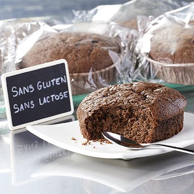 Gâteau au chocolat sans gluten 65g