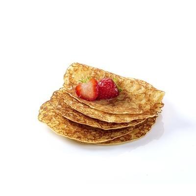 Mini crêpes gourmandes sucrées arôme vanille 15g (10cm)