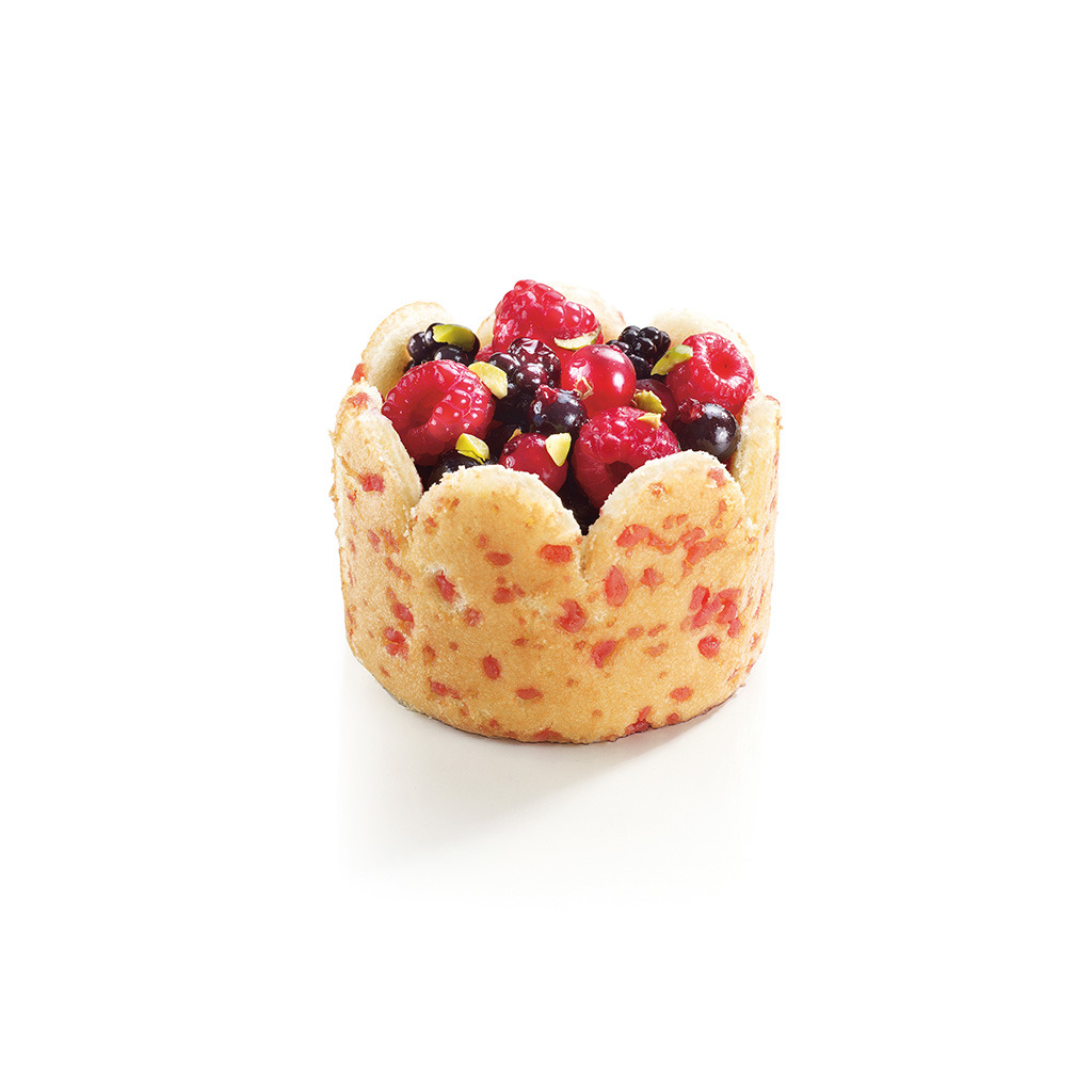 Charlotte aux fruits rouges 80g