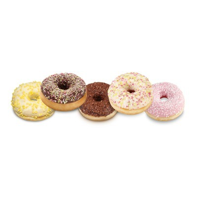 Assortiment donuts 50g (5x12cm)